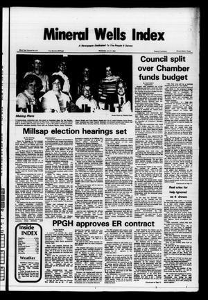 Mineral Wells Index (Mineral Wells, Tex.), Vol. 82, No. 66, Ed. 1 Wednesday, July 21, 1982