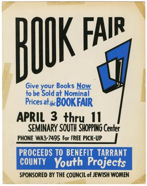 Primary view of object titled '[Book Fair Poster 1965]'.