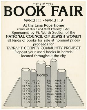 Primary view of object titled '[Book Fair Poster 1979]'.