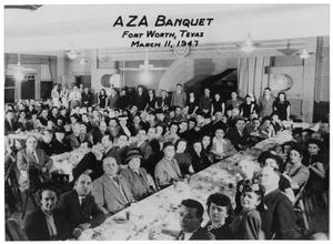 Primary view of object titled 'AZA Banquet'.