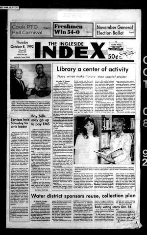 The Ingleside Index (Ingleside, Tex.), Vol. 43, No. 36, Ed. 1 Thursday, October 8, 1992