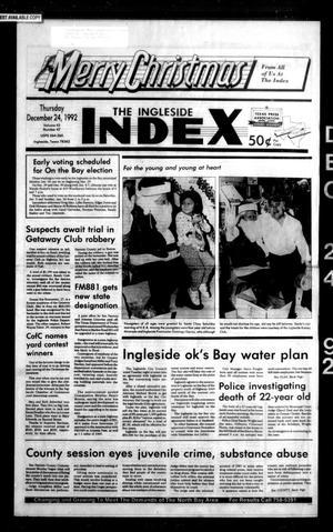 The Ingleside Index (Ingleside, Tex.), Vol. 43, No. 47, Ed. 1 Thursday, December 24, 1992