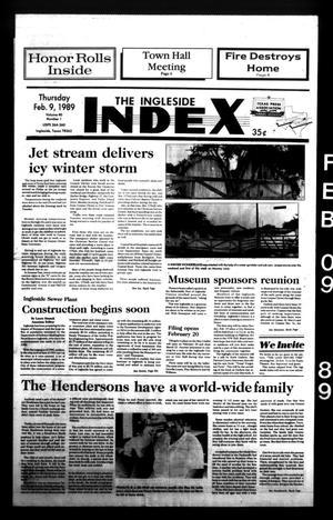 The Ingleside Index (Ingleside, Tex.), Vol. 40, No. 1, Ed. 1 Thursday, February 9, 1989