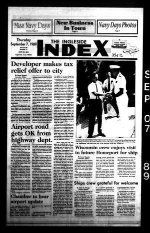 The Ingleside Index (Ingleside, Tex.), Vol. 40, No. 31, Ed. 1 Thursday, September 7, 1989