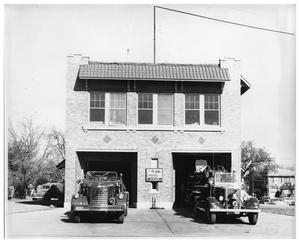 Primary view of object titled '[Fire Station #15]'.