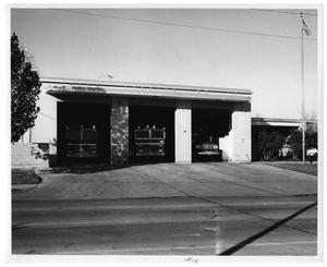Primary view of object titled '[Dallas Fire Department Station #14]'.