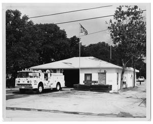 Primary view of object titled '[Dallas Fire Department Station #9]'.