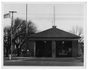 Primary view of object titled '[Dallas Fire Department Station #8]'.