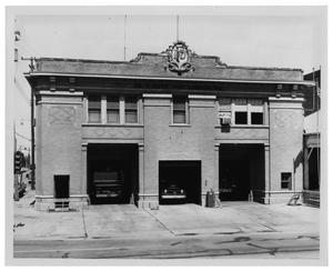 Primary view of object titled '[Dallas Fire Department Station #5]'.