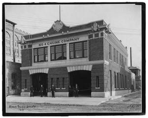 Primary view of object titled '[Dallas Fire Department Station #4]'.