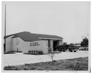 Primary view of object titled '[Dallas Fire Station #2]'.