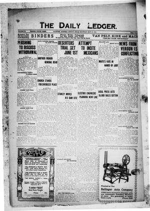 The Daily Ledger. (Ballinger, Tex.), Vol. 11, Ed. 1 Saturday, May 27, 1916