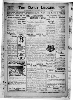 The Daily Ledger. (Ballinger, Tex.), Vol. 9, No. 126, Ed. 1 Tuesday, May 26, 1914
