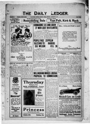 The Daily Ledger. (Ballinger, Tex.), Vol. 11, Ed. 1 Monday, January 31, 1916