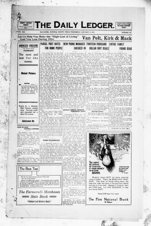 The Daily Ledger. (Ballinger, Tex.), Vol. 8, No. 315, Ed. 1 Wednesday, January 21, 1914