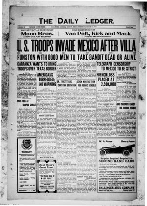 The Daily Ledger. (Ballinger, Tex.), Vol. 11, Ed. 1 Saturday, March 11, 1916