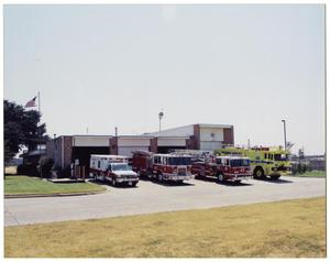 Primary view of object titled '[Dallas Fire Department Station #49]'.