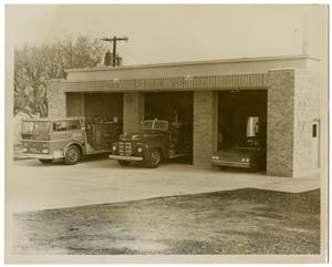 Primary view of object titled '[Dallas Fire Department Station #52]'.