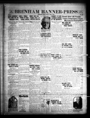 Primary view of Brenham Banner-Press (Brenham, Tex.), Vol. 47, No. 266, Ed. 1 Friday, February 6, 1931
