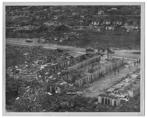 Primary view of object titled '[Tornado Destruction in Dallas]'.