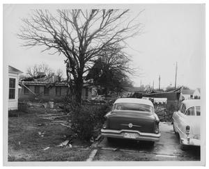 Primary view of object titled '[Damage Done By a Tornado]'.