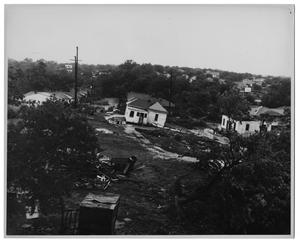 Primary view of object titled '[High Wind & Tornado Wind Damage]'.