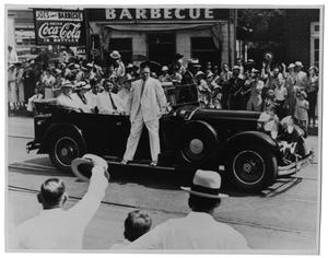 Primary view of object titled '[President Franklin D. Roosevelt in Dallas]'.