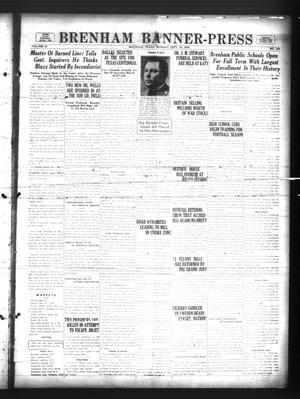 Primary view of Brenham Banner-Press (Brenham, Tex.), Vol. 51, No. 143, Ed. 1 Monday, September 10, 1934