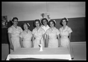 Primary view of object titled 'Nursing Class 1964'.