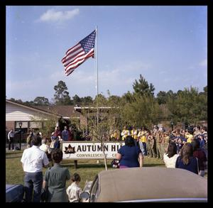 Flag Dedication @ Autumn Hills Nursing Home