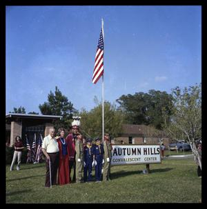 Primary view of object titled 'Autumn Hills NNursing Home Flag Dedication'.