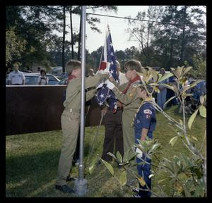 Primary view of object titled 'Autumn Hills Flag Dedication'.