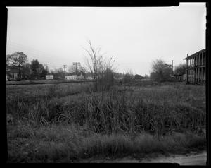 Primary view of object titled 'Southern Pacific Railroad (looking north from Cleveland's junction)'.