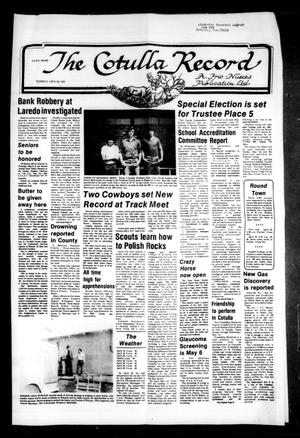 The Cotulla Record (Cotulla, Tex.), Ed. 1 Thursday, April 28, 1983