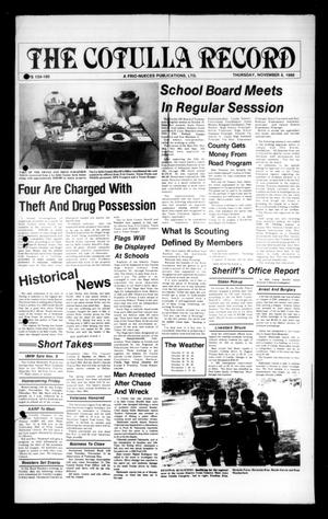 The Cotulla Record (Cotulla, Tex.), Ed. 1 Thursday, November 6, 1986