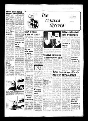 The Cotulla Record (Cotulla, Tex.), Vol. 80, No. 33, Ed. 1 Thursday, October 25, 1979