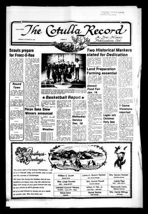 The Cotulla Record (Cotulla, Tex.), No. 27, Ed. 1 Thursday, December 16, 1982