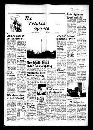 The Cotulla Record (Cotulla, Tex.), Vol. 80, No. 4, Ed. 1 Friday, April 6, 1979