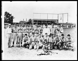 Primary view of object titled 'Little League Baseball Team'.