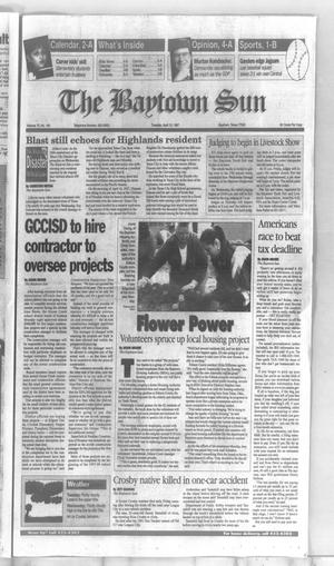 Primary view of The Baytown Sun (Baytown, Tex.), Vol. 75, No. 141, Ed. 1 Tuesday, April 15, 1997