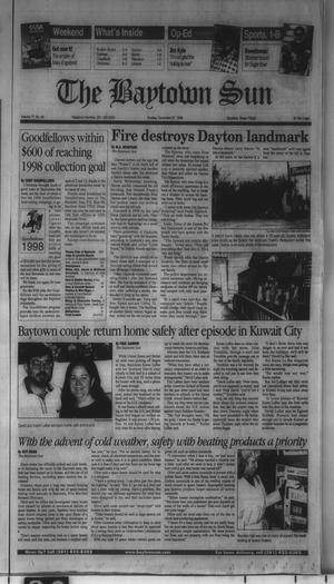 Primary view of object titled 'The Baytown Sun (Baytown, Tex.), Vol. 77, No. 49, Ed. 1 Sunday, December 27, 1998'.