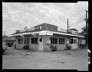 Primary view of object titled '[Little Shamrock Drive Inn Restaurant]'.