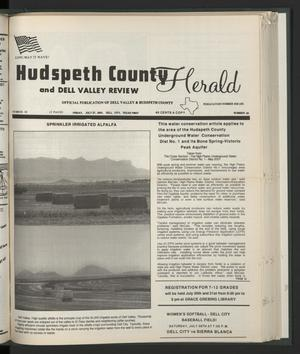 Primary view of object titled 'Hudspeth County Herald and Dell Valley Review (Dell City, Tex.), Vol. 44, No. 43, Ed. 1 Friday, July 27, 2001'.