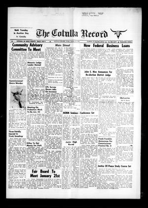 The Cotulla Record (Cotulla, Tex.), Vol. 77, No. 47, Ed. 1 Friday, January 18, 1974