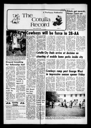 The Cotulla Record (Cotulla, Tex.), Vol. 78, No. 14, Ed. 1 Friday, August 27, 1976