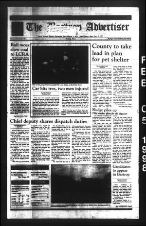The Bastrop Advertiser (Bastrop, Tex.), Vol. 144, No. 98, Ed. 1 Thursday, February 5, 1998