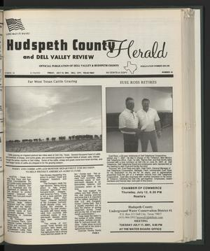 Primary view of object titled 'Hudspeth County Herald and Dell Valley Review (Dell City, Tex.), Vol. 44, No. 41, Ed. 1 Friday, July 13, 2001'.
