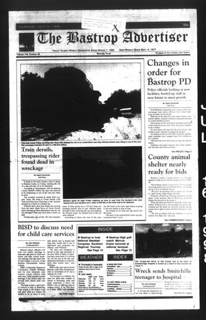 The Bastrop Advertiser (Bastrop, Tex.), Vol. 145, No. 40, Ed. 1 Thursday, July 16, 1998