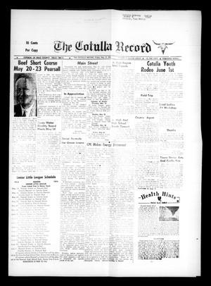 The Cotulla Record (Cotulla, Tex.), Vol. 77, No. 12, Ed. 1 Friday, May 17, 1974