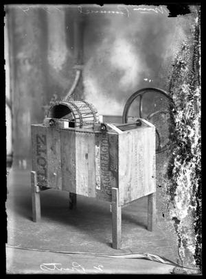 Primary view of object titled '[Wooden Machine]'.